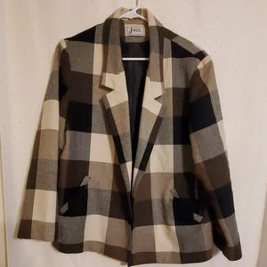 Vintage | Plaid Blazer